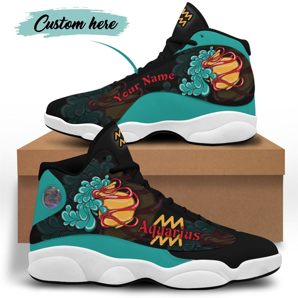 February Birthday Air Jordan 13 February Shoes Personalized Sneakers Sport V06