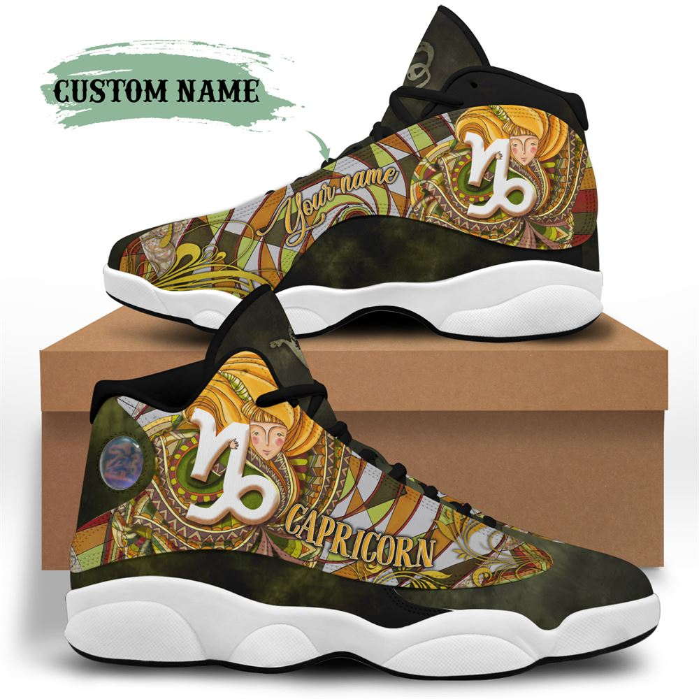 January Birthday Air Jordan 13 January Shoes Personalized Sneakers Sport V04