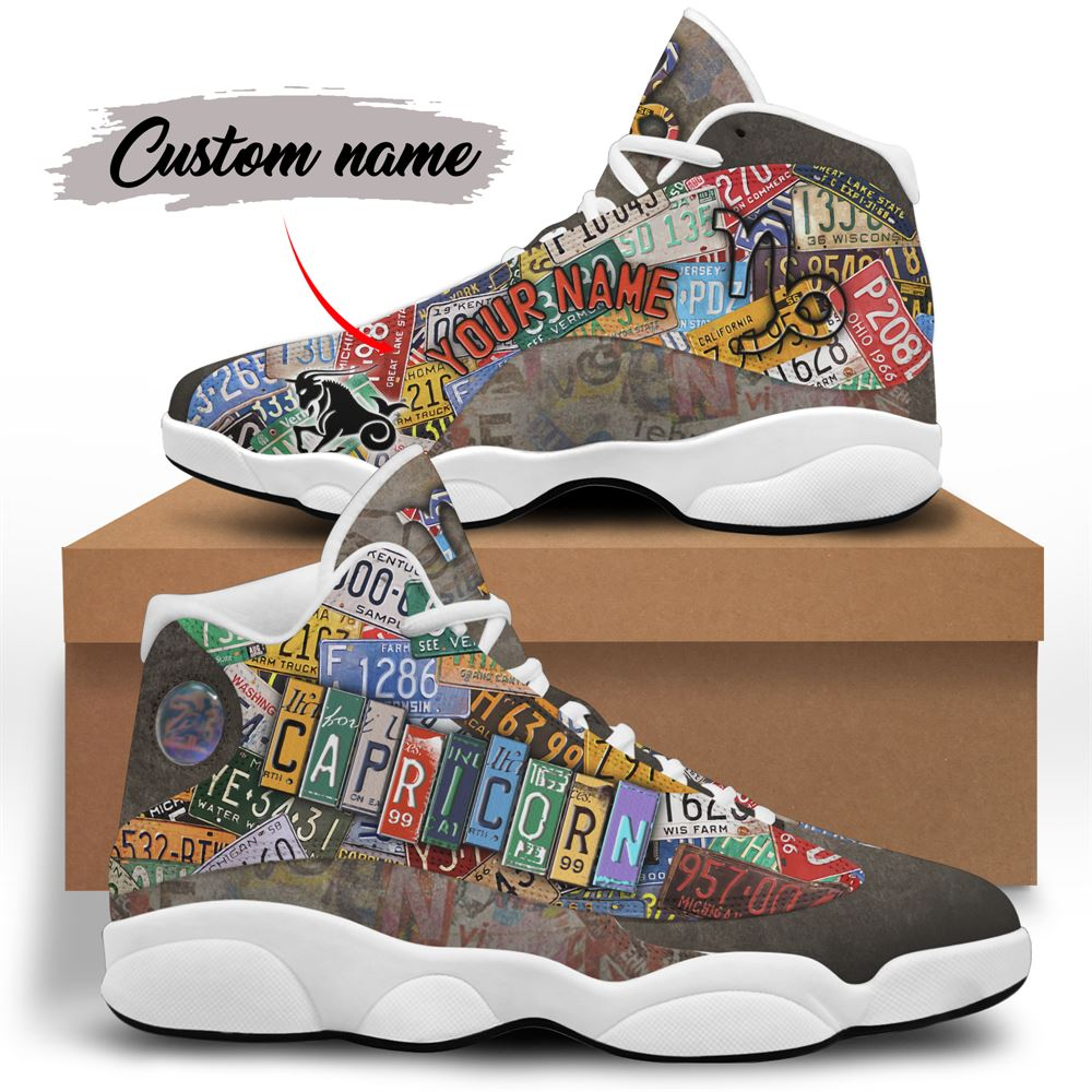 January Birthday Air Jordan 13 January Shoes Personalized Sneakers Sport V046