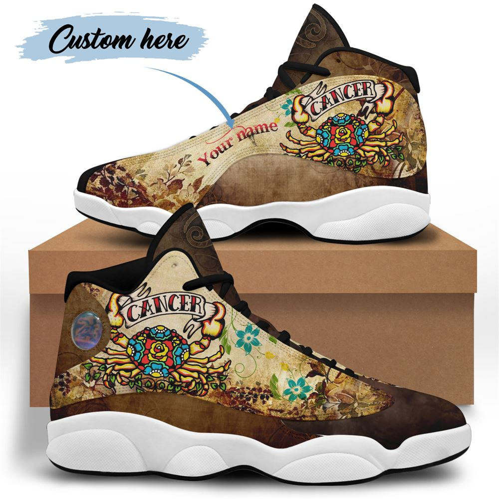 July Birthday Air Jordan 13 July Shoes Personalized Sneakers Sport V020