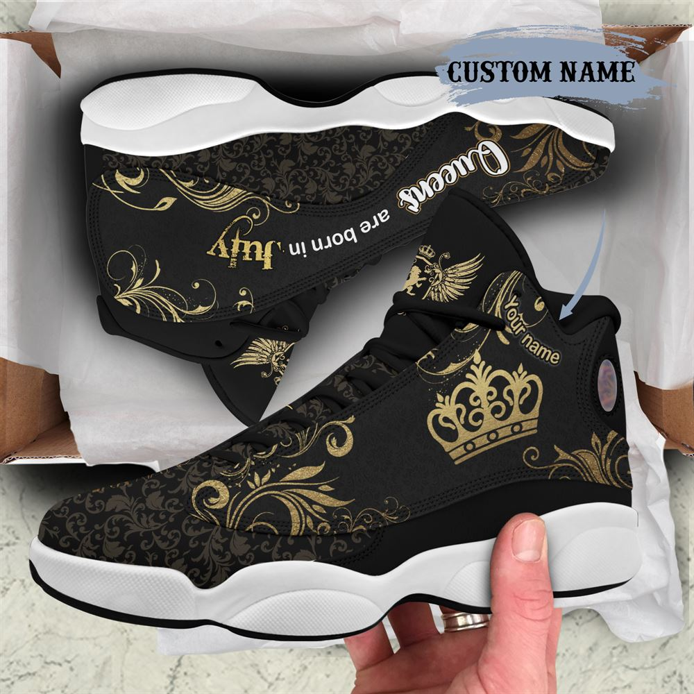 July Birthday Air Jordan 13 July Shoes Personalized Sneakers Sport V037