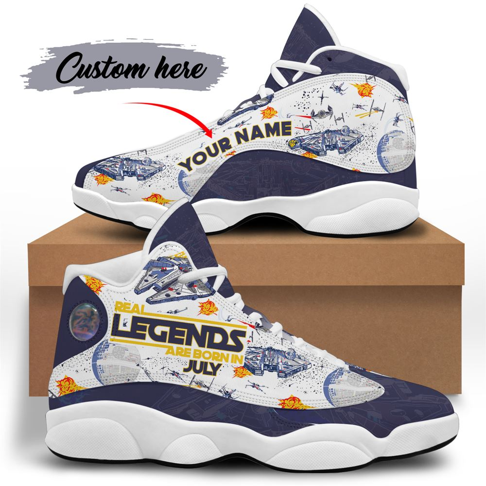 July Birthday Air Jordan 13 July Shoes Personalized Sneakers Sport V038