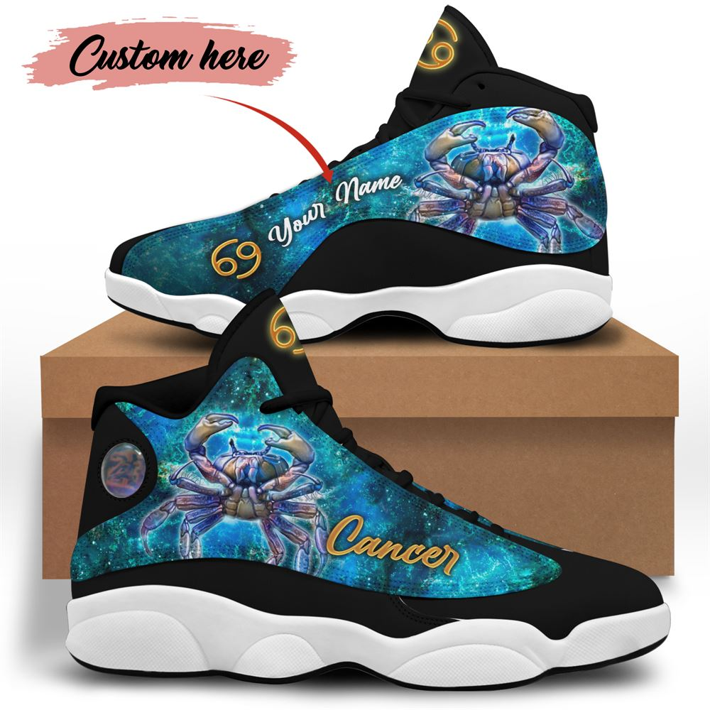 July Birthday Air Jordan 13 July Shoes Personalized Sneakers Sport V04