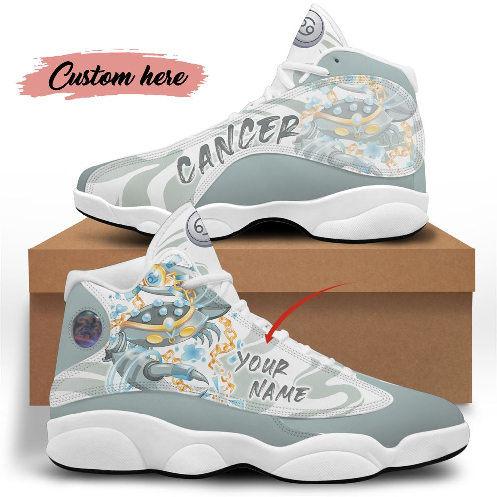 July Birthday Air Jordan 13 July Shoes Personalized Sneakers Sport V06
