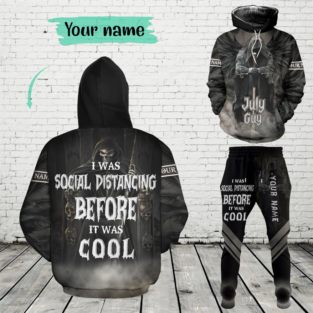 July Birthday Guy Combo July 3d Clothes Personalized Hoodie Joggers Set V01