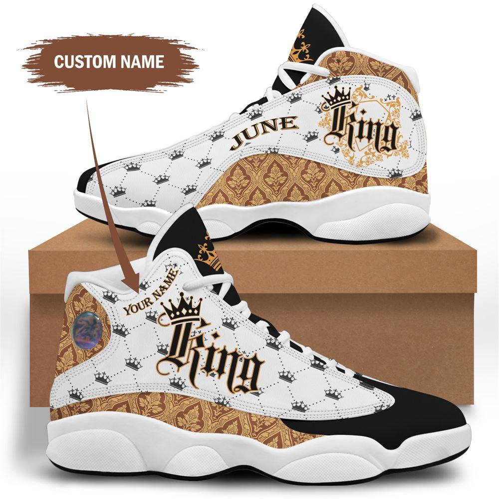 June Birthday Air Jordan 13 June Shoes Personalized Sneakers Sport V024