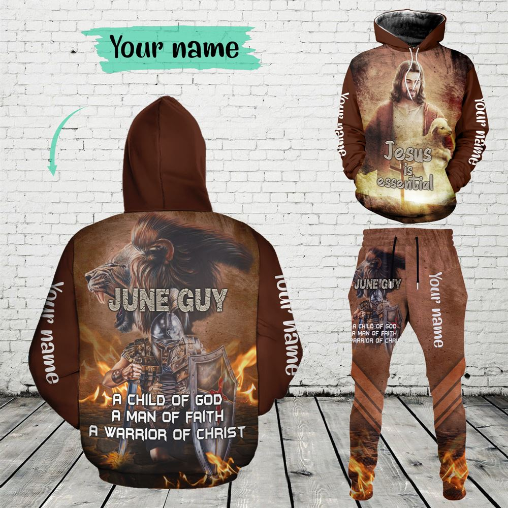 June Birthday Guy Combo June 3d Clothes Personalized Hoodie Joggers Set V012