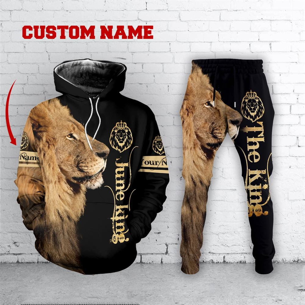 June Birthday Guy Combo June 3d Clothes Personalized Hoodie Joggers Set V033