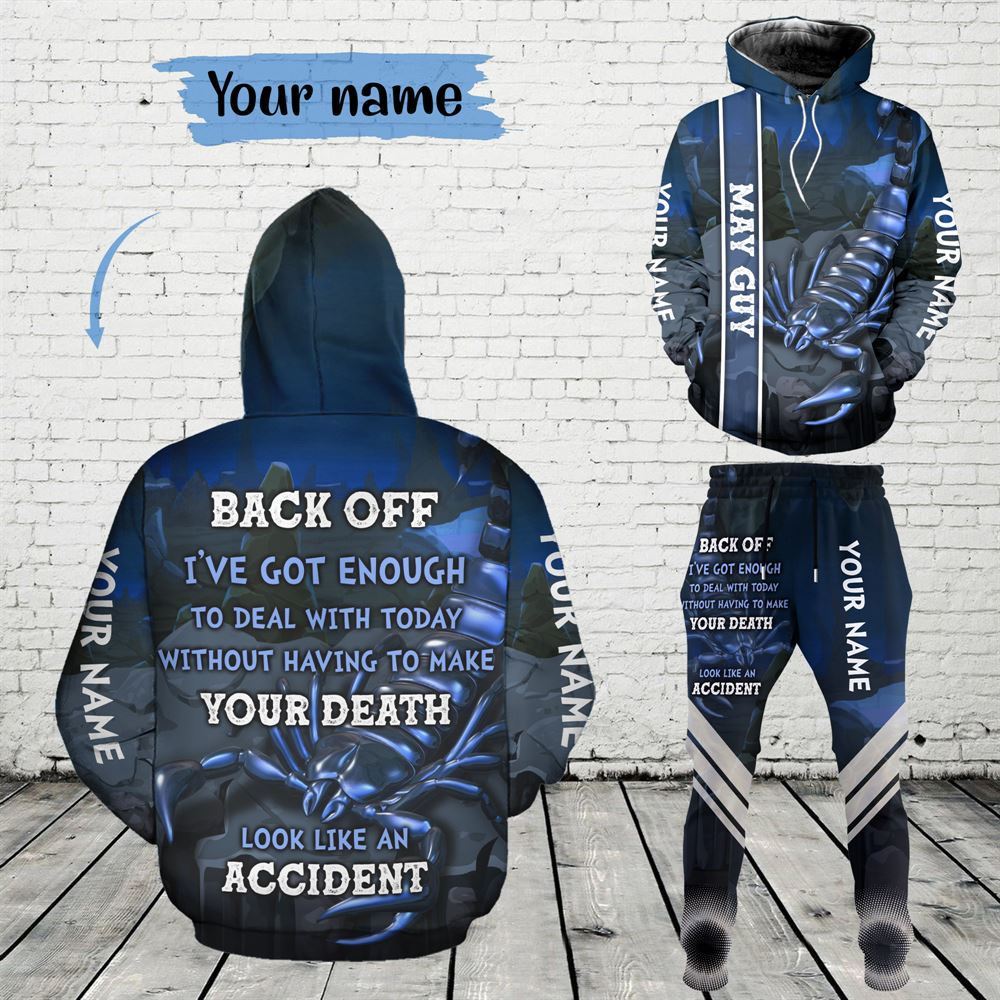 May Birthday Guy Combo May 3d Clothes Personalized Hoodie Joggers Set V06