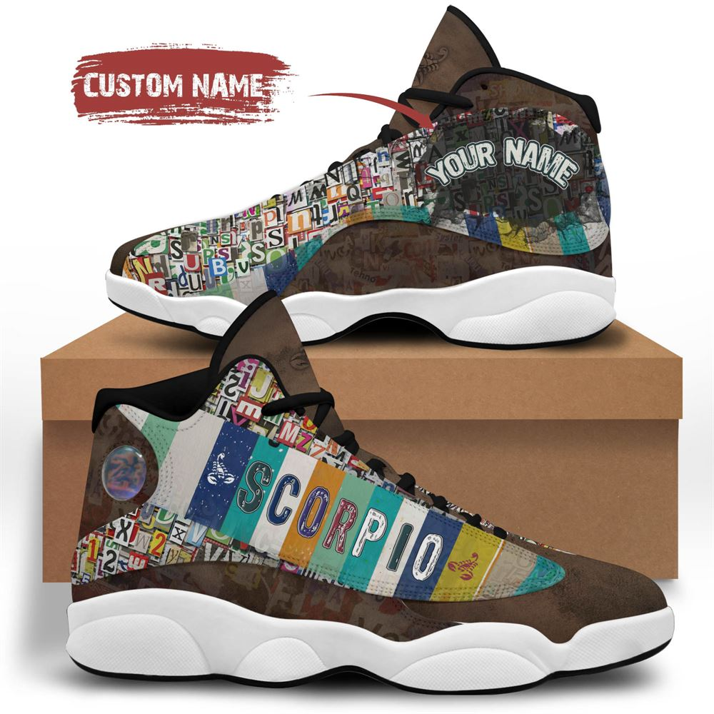 November Birthday Air Jordan 13 November Shoes Personalized Sneakers Sport V033