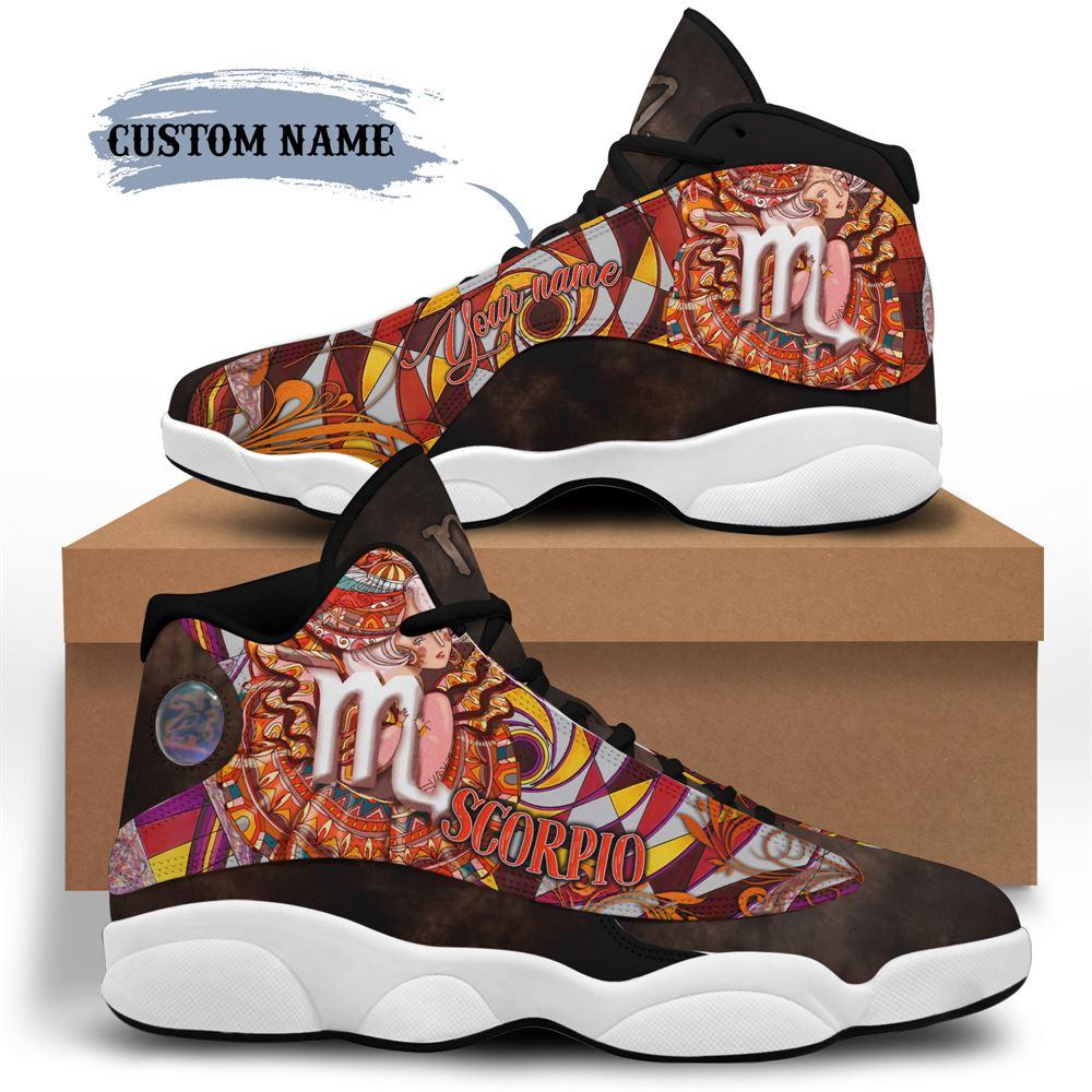 November Birthday Air Jordan 13 November Shoes Personalized Sneakers Sport V035