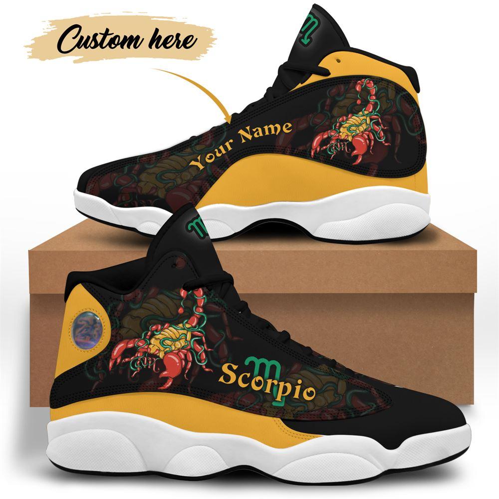 November Birthday Air Jordan 13 November Shoes Personalized Sneakers Sport V038