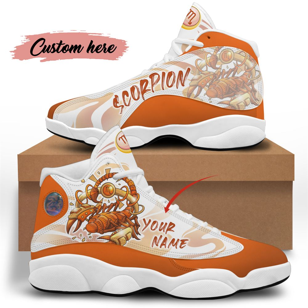 November Birthday Air Jordan 13 November Shoes Personalized Sneakers Sport V039
