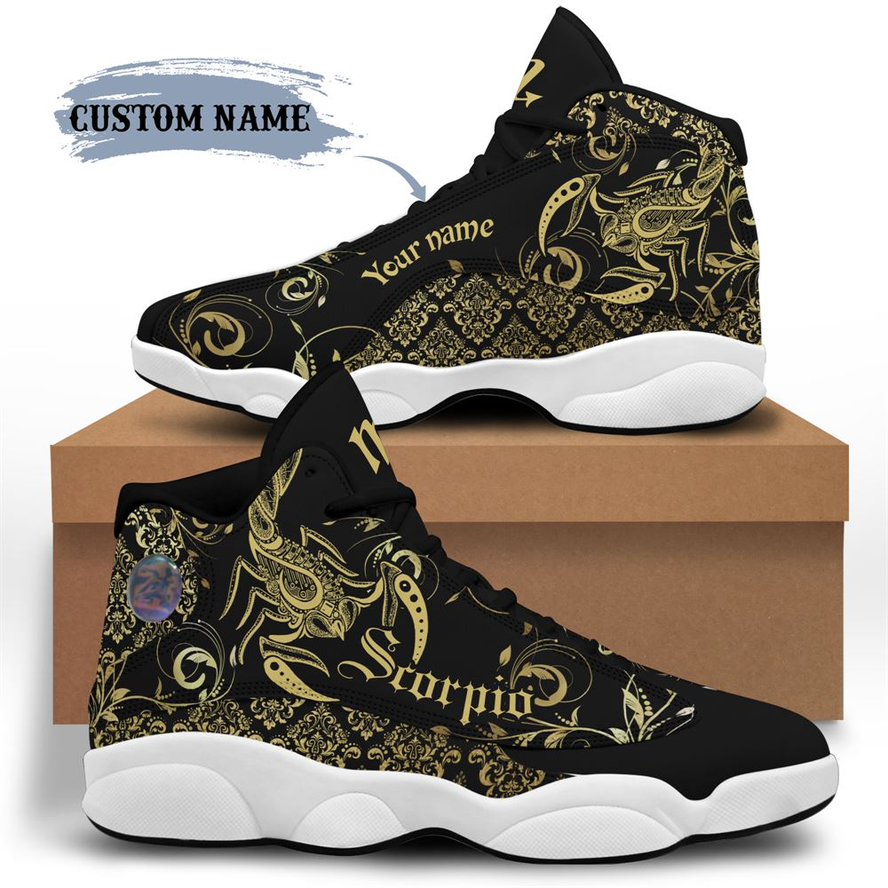 November Birthday Air Jordan 13 November Shoes Personalized Sneakers Sport V043