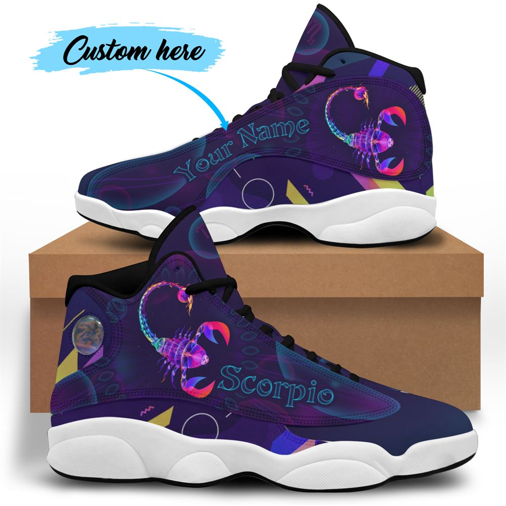 November Birthday Air Jordan 13 November Shoes Personalized Sneakers Sport V046