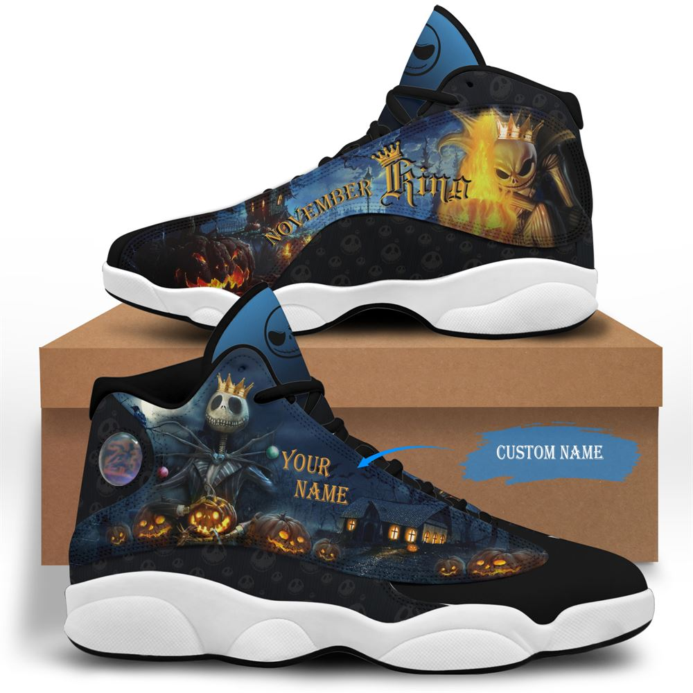 November Birthday Air Jordan 13 November Shoes Personalized Sneakers Sport V05
