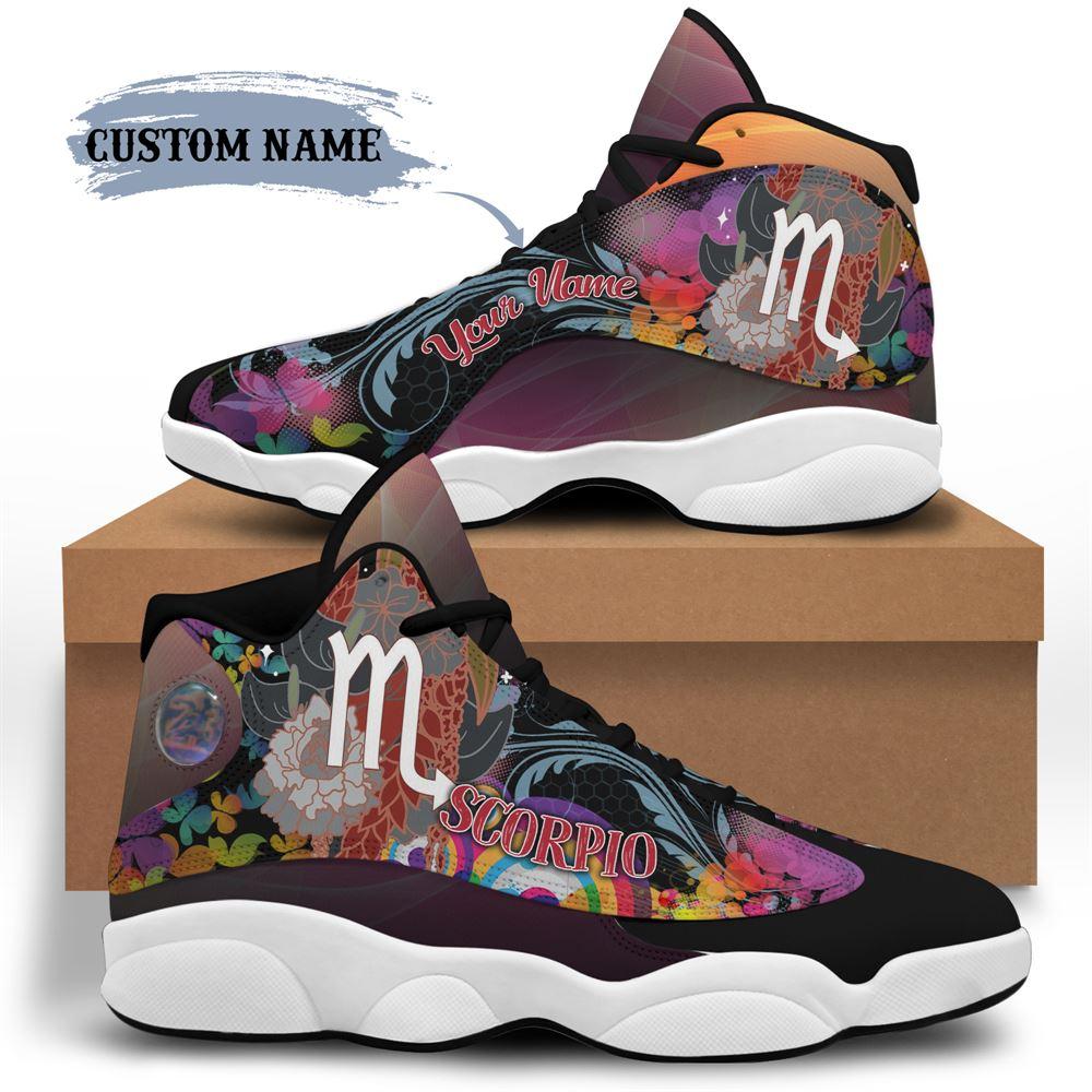 November Birthday Air Jordan 13 November Shoes Personalized Sneakers Sport V051