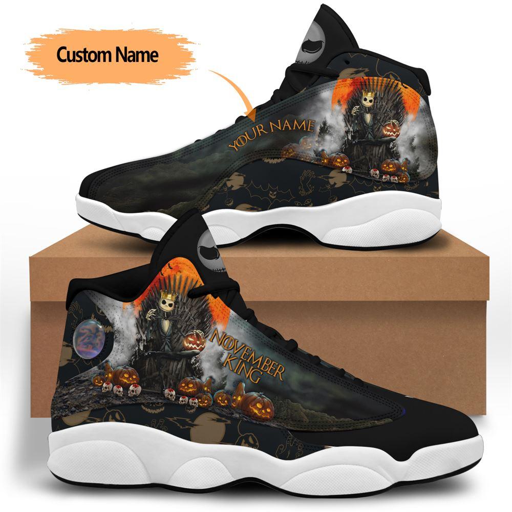 November Birthday Air Jordan 13 November Shoes Personalized Sneakers Sport V07