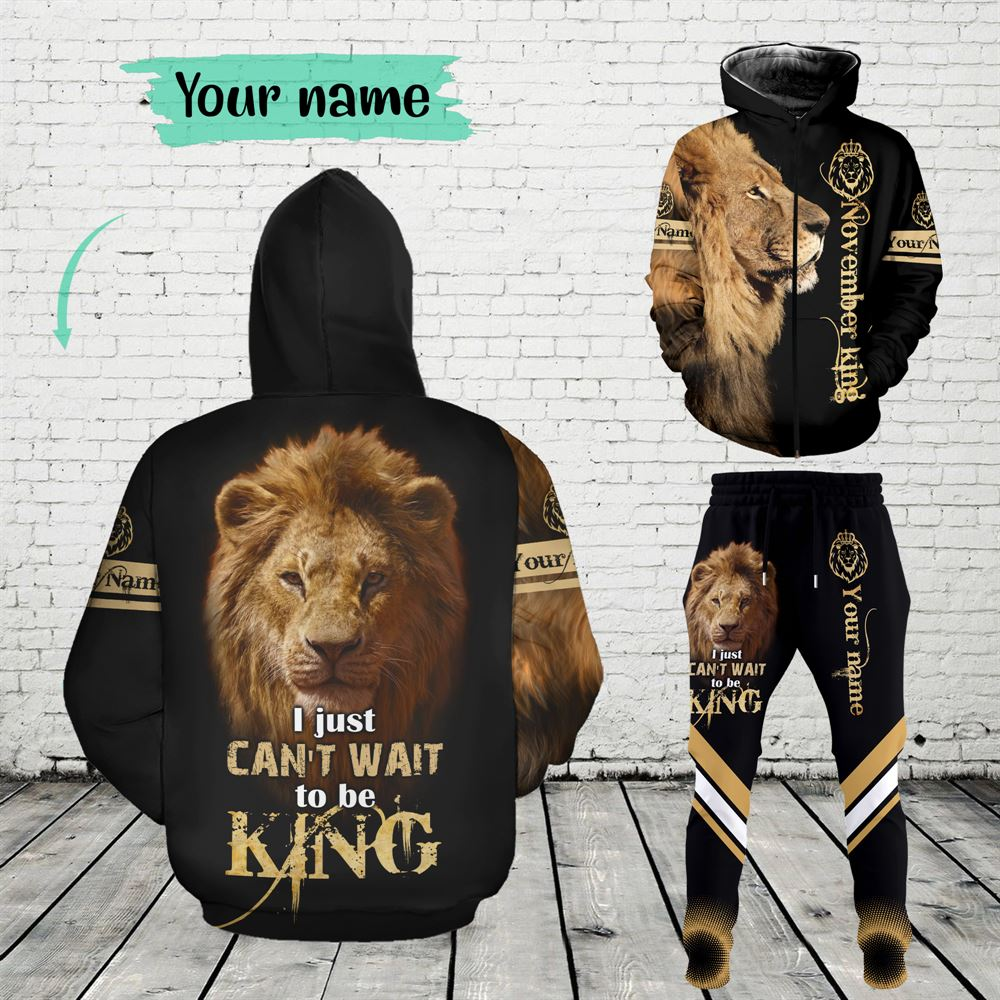 November Birthday Guy Combo November 3d Clothes Personalized Hoodie Joggers Set V019