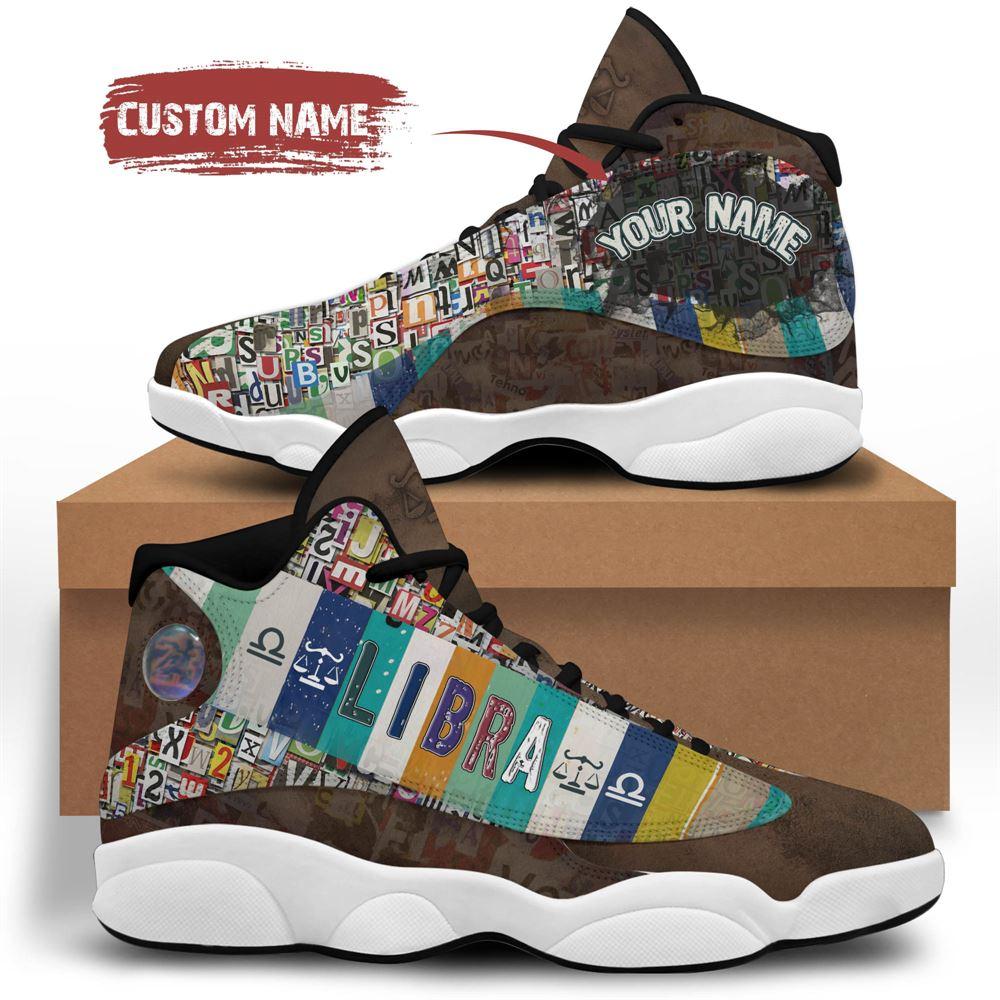 October Birthday Air Jordan 13 October Shoes Personalized Sneakers Sport V01