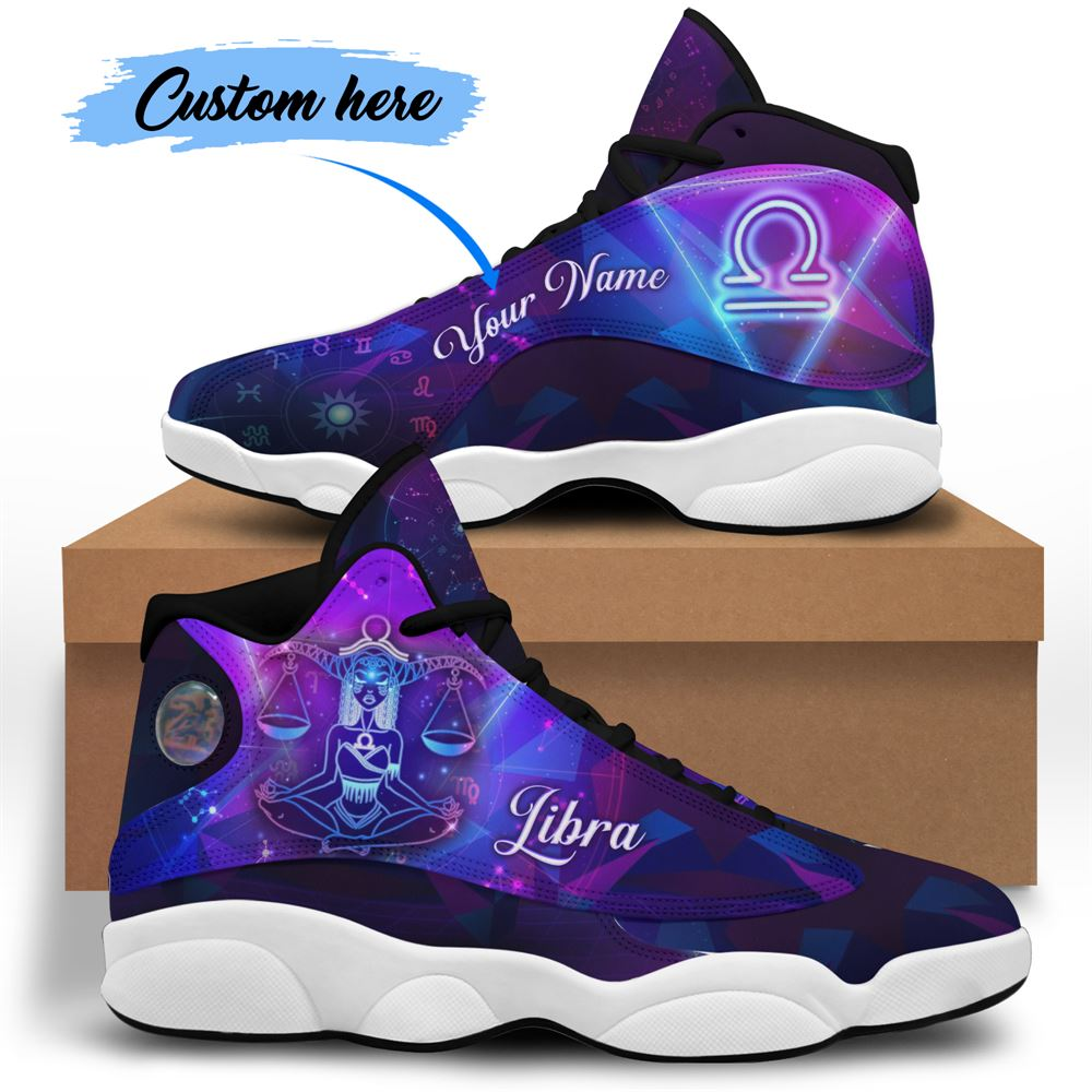 October Birthday Air Jordan 13 October Shoes Personalized Sneakers Sport V010