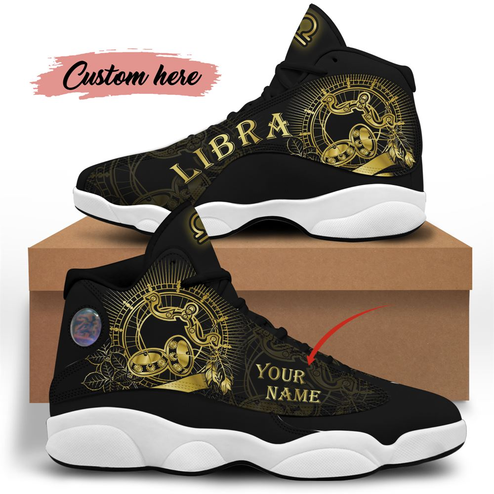 October Birthday Air Jordan 13 October Shoes Personalized Sneakers Sport V012