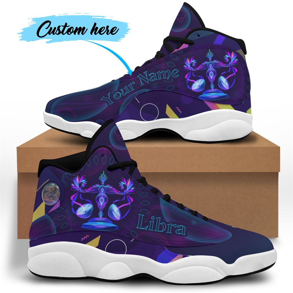 October Birthday Air Jordan 13 October Shoes Personalized Sneakers Sport V014