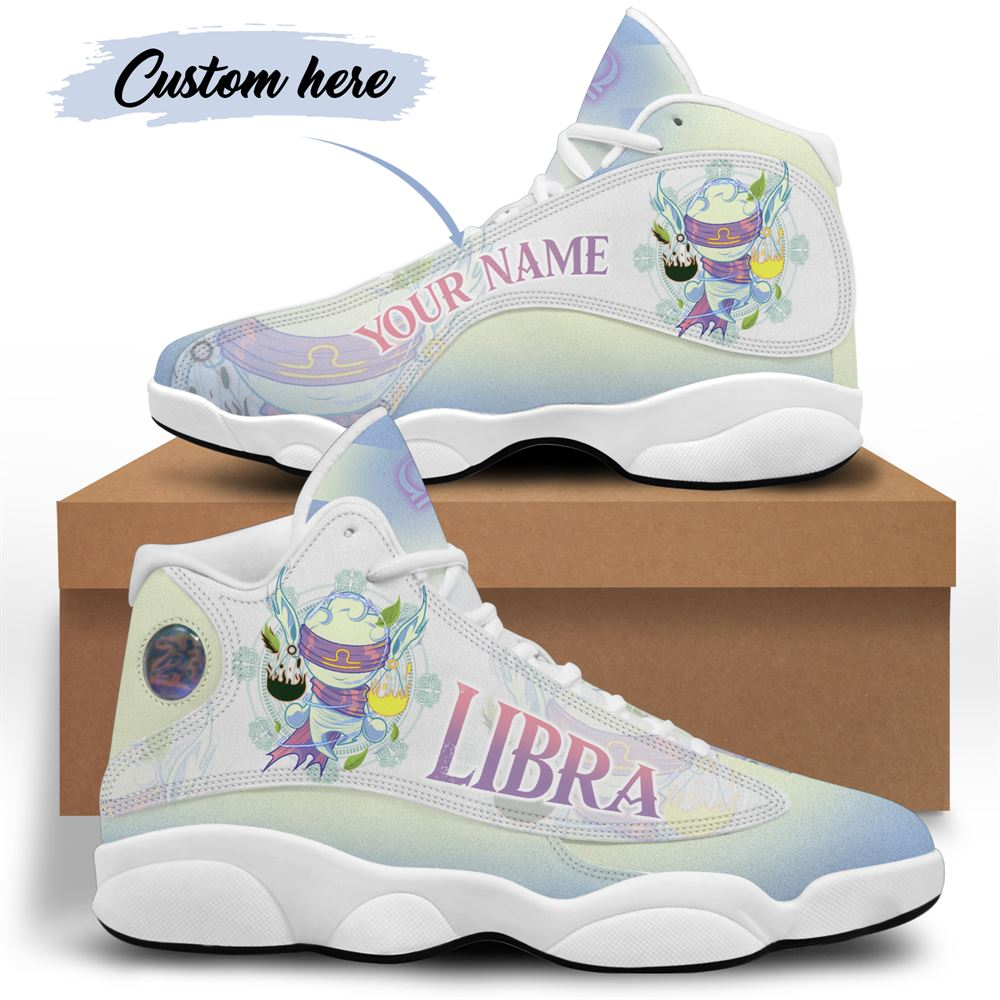 October Birthday Air Jordan 13 October Shoes Personalized Sneakers Sport V018