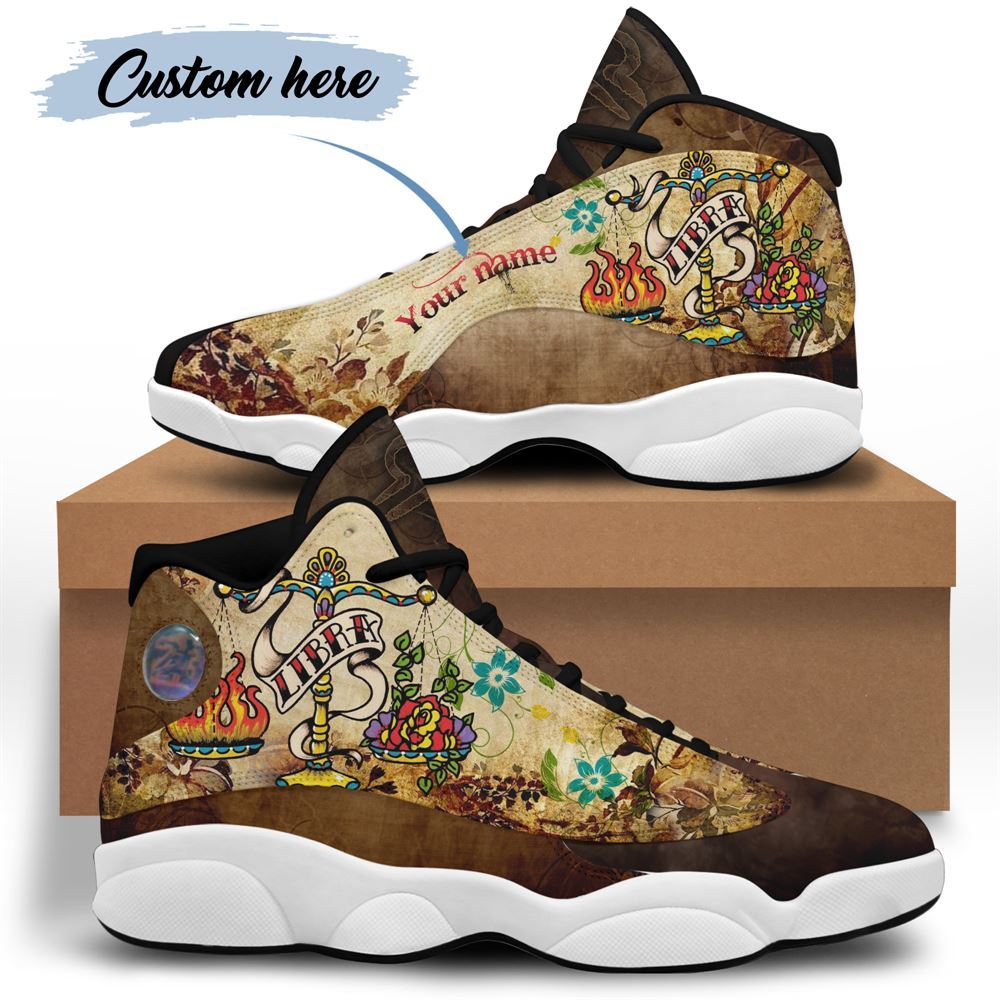 October Birthday Air Jordan 13 October Shoes Personalized Sneakers Sport V021
