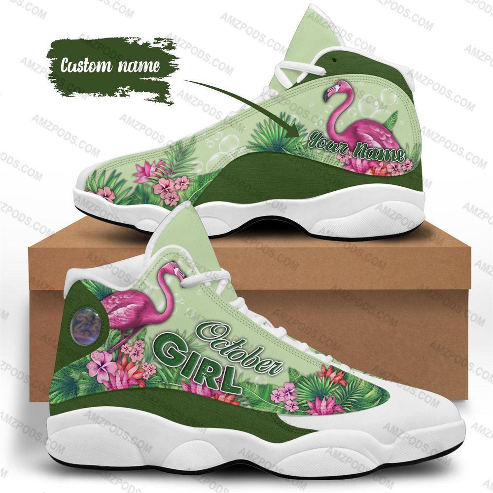October Birthday Air Jordan 13 October Shoes Personalized Sneakers Sport V029