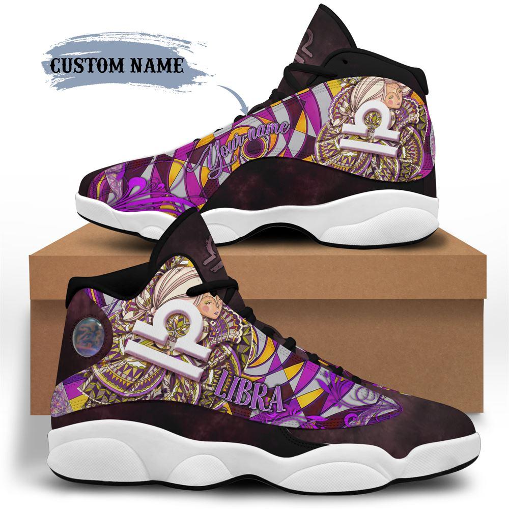 October Birthday Air Jordan 13 October Shoes Personalized Sneakers Sport V03