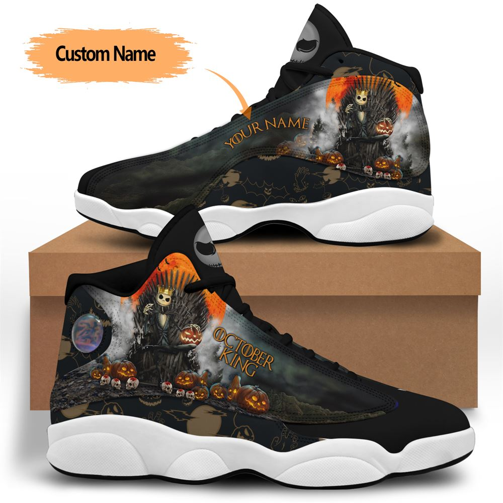 October Birthday Air Jordan 13 October Shoes Personalized Sneakers Sport V037