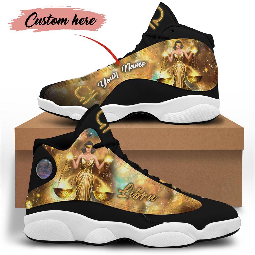 October Birthday Air Jordan 13 October Shoes Personalized Sneakers Sport V05