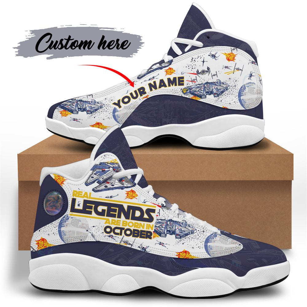 October Birthday Air Jordan 13 October Shoes Personalized Sneakers Sport V056