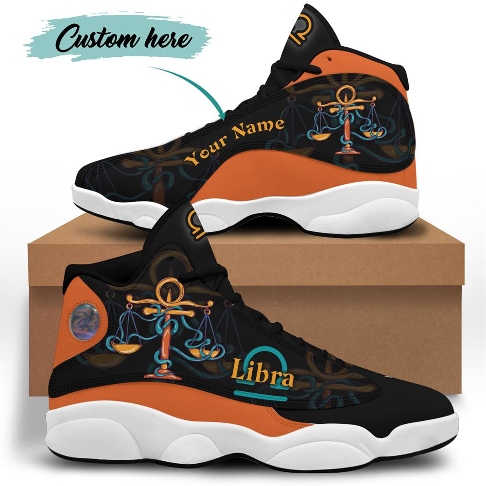 October Birthday Air Jordan 13 October Shoes Personalized Sneakers Sport V06