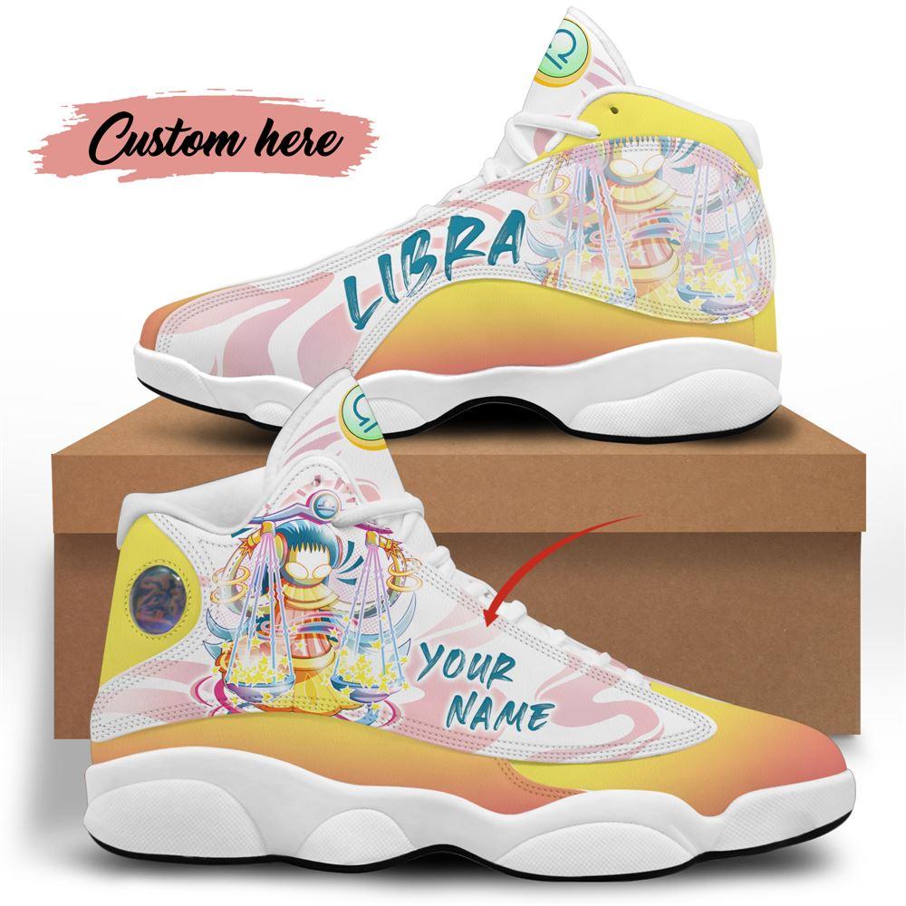 October Birthday Air Jordan 13 October Shoes Personalized Sneakers Sport V07