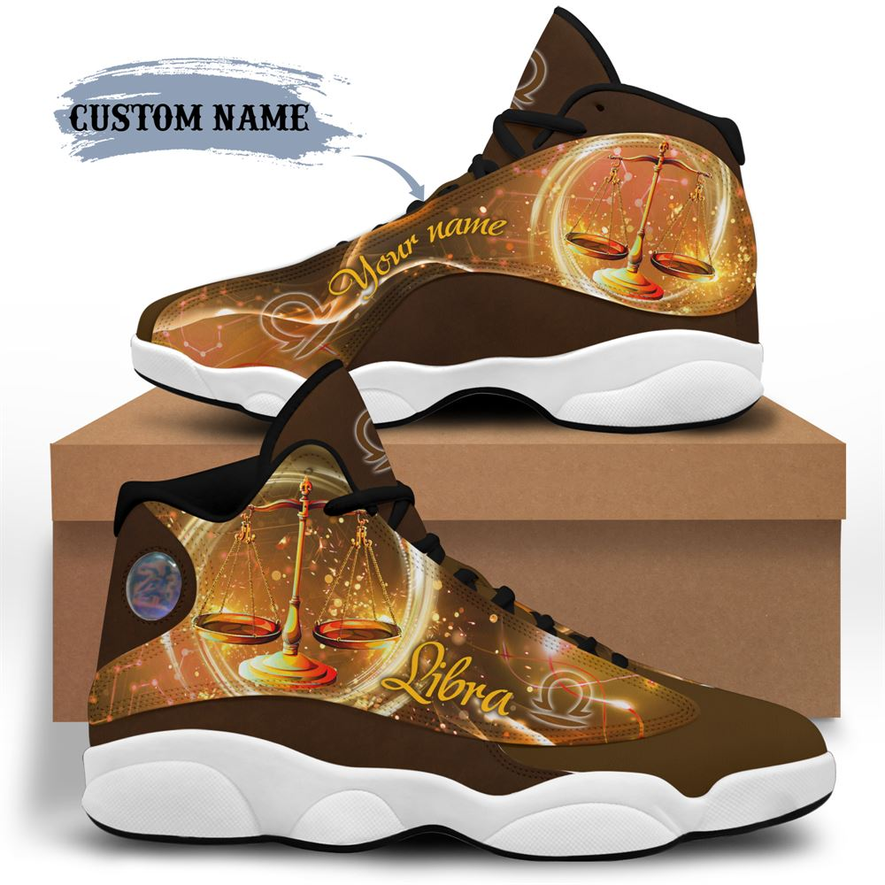 October Birthday Air Jordan 13 October Shoes Personalized Sneakers Sport V08