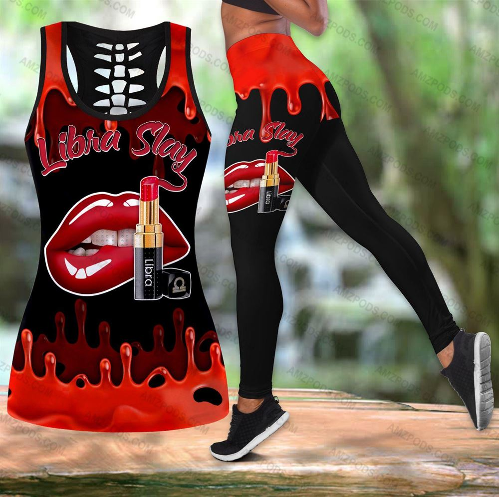 October Birthday Girl Combo October Outfit Hollow Tanktop Legging Personalized Set V057