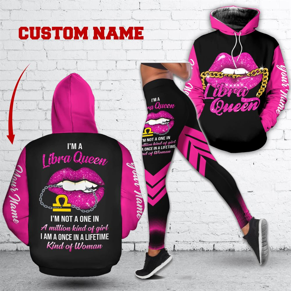 October Birthday Girl Combo October Outfit Personalized Hoodie Legging Set V011