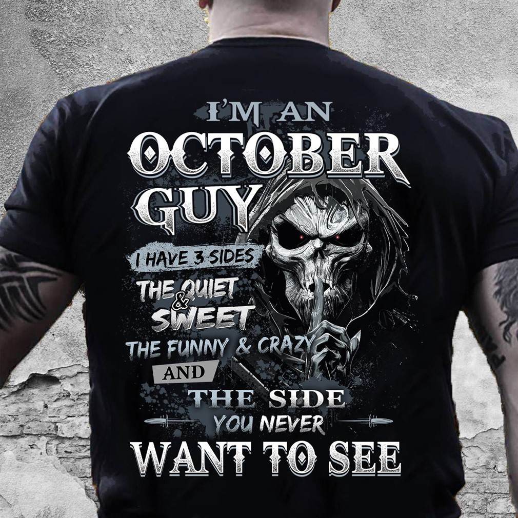October Guy Have 3 Sides