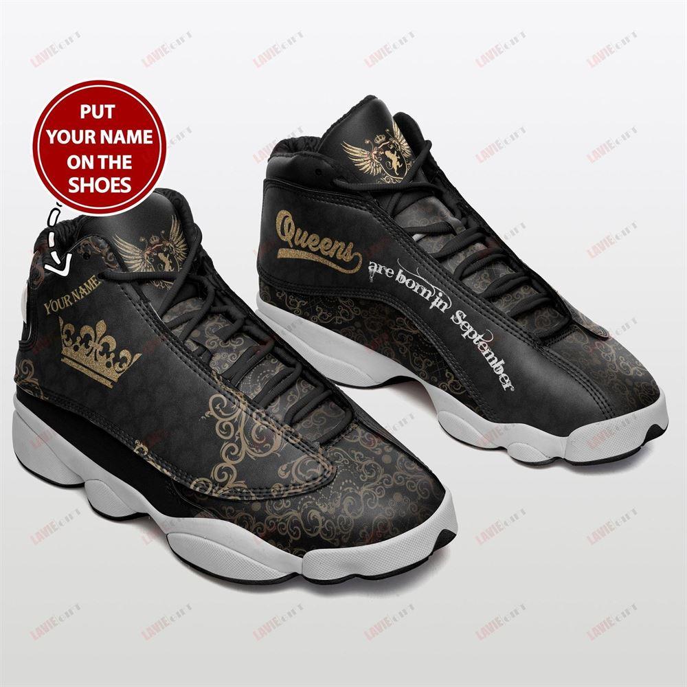 September Birthday Air Jordan 13 September Shoes Personalized Sneakers Sport V030