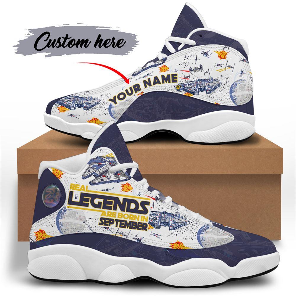 September Birthday Air Jordan 13 September Shoes Personalized Sneakers Sport V032