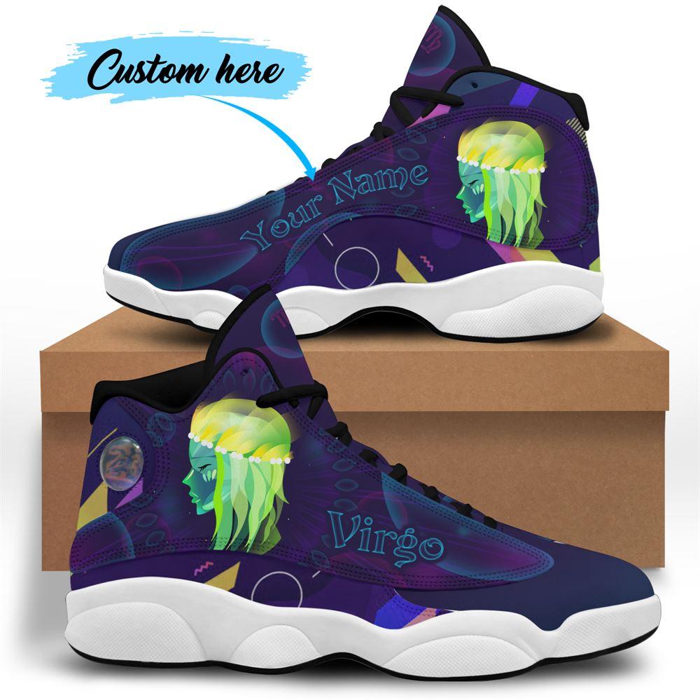 September Birthday Air Jordan 13 September Shoes Personalized Sneakers Sport V045