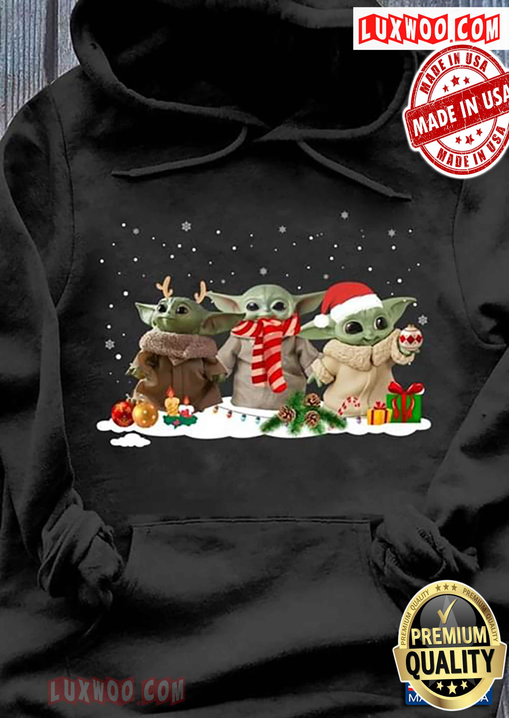 Baby Yoda The Mandalorian Christmas