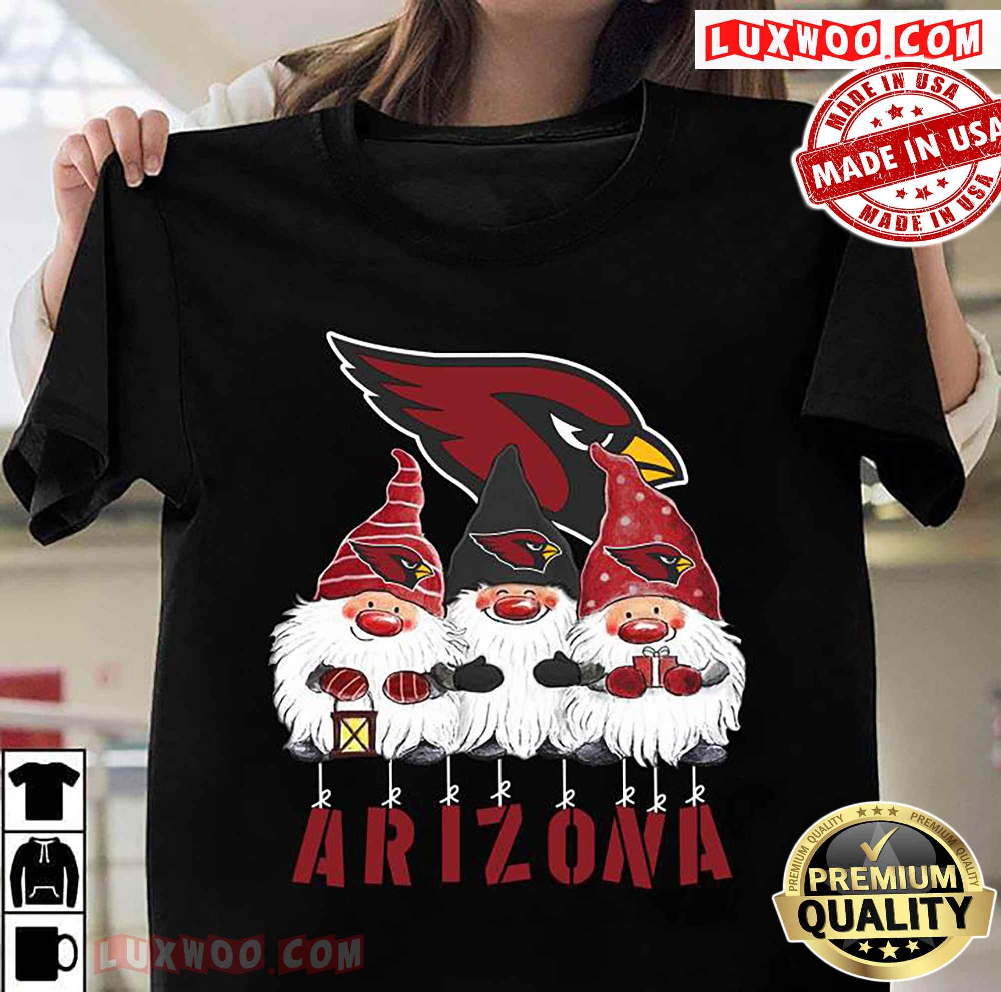Gnomies Arizona Cardinals Christmas