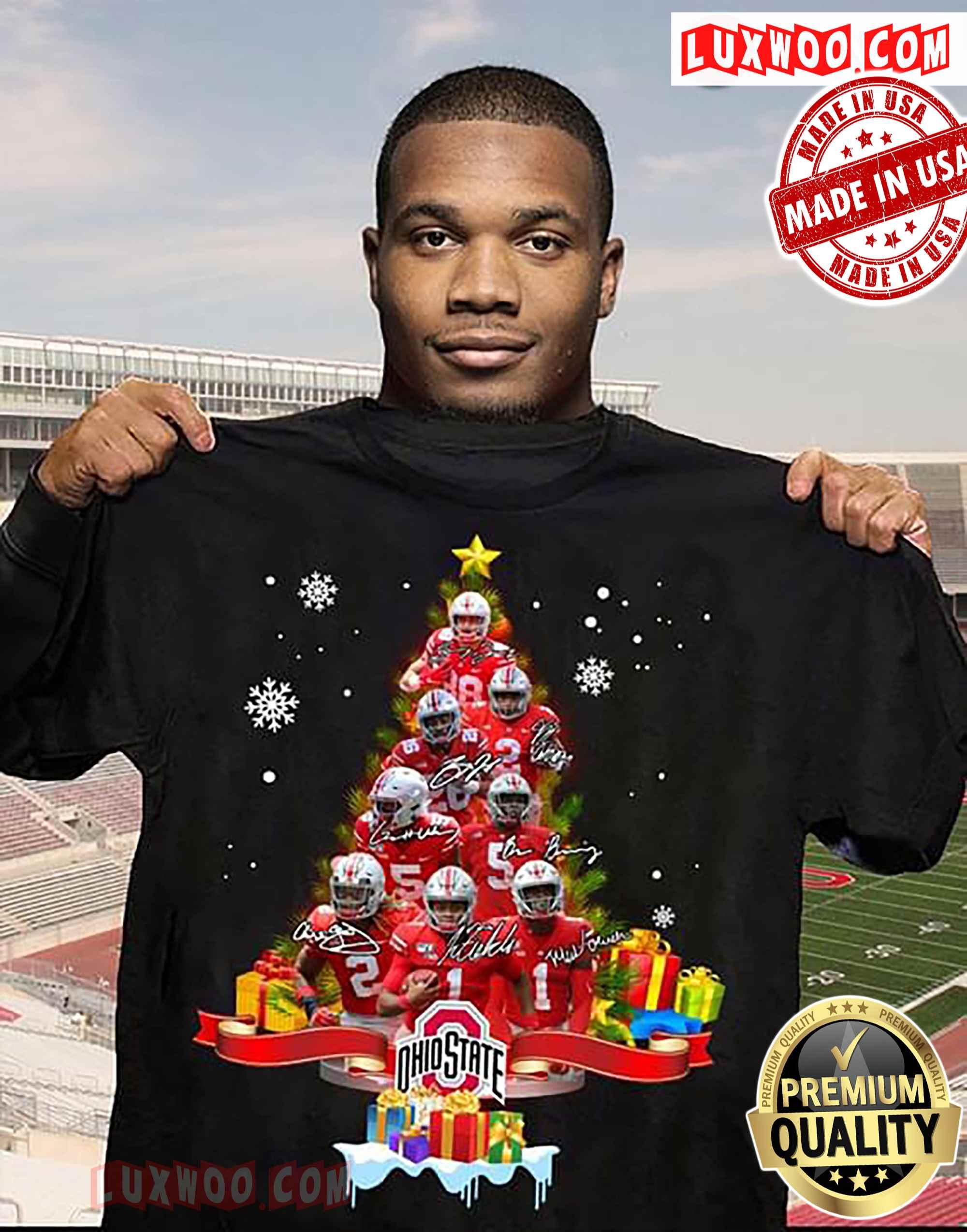 Ohio State Buckeyes Christmas Tree Ornament