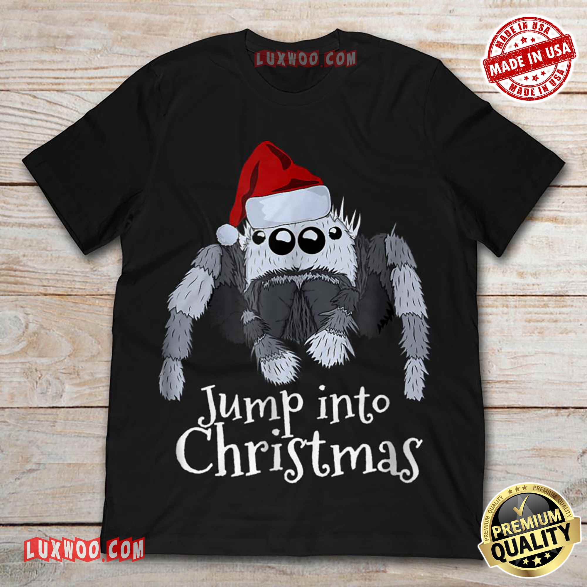 Jump Into Christmas Tee Shirt