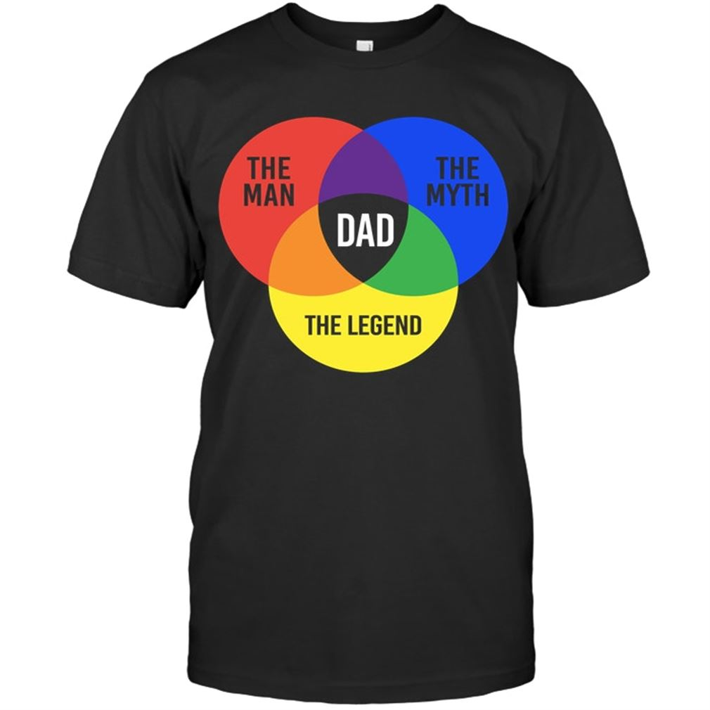 Dad - The Man The Myth The Legend Size Up To 5xl