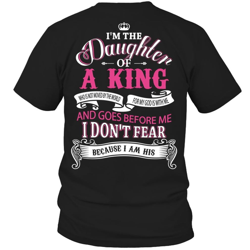 Family - Im The Daughter Of A King Who Is Not Moved By The World Plus Size Up To 5xl