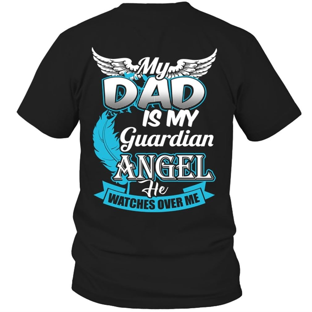 Family - My Dad Is My Guardian Angel Plus Size Up To 5xl